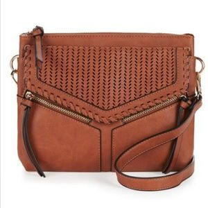 Violet Ray Bags - VIOLET RAY Leanna Perforated Crossbody